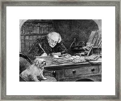 Francis Ronalds Framed Print by Science Photo Library