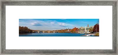 Francis Scott Key Bridge Framed Print by Panoramic Images