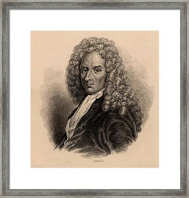 Francois Le Vaillant Framed Print by Universal History Archive/uig