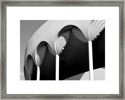Frank Lloyd Wright Designed Auditorium Detail Framed Print by Karyn Robinson