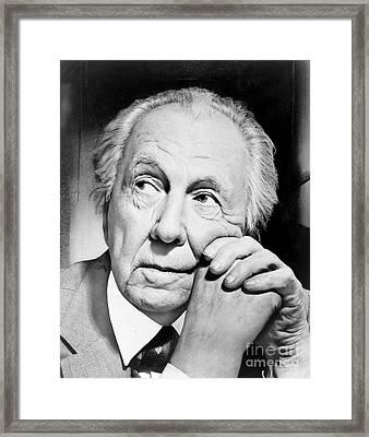 Frank Lloyd Wright Framed Print by Granger