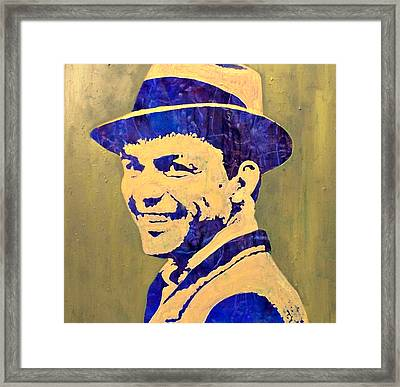 Frank Framed Print by Pasquale Di maso