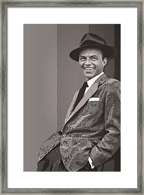 Frank Sinatra Framed Print by Daniel Hagerman