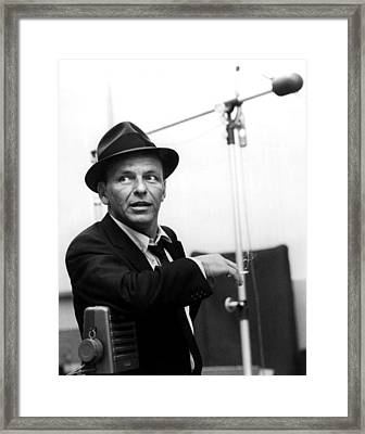 Frank Sinatra Framed Print by Retro Images Archive