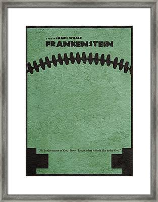 Frankenstein Framed Print by Ayse Deniz