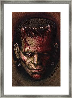 Frankenstein  Framed Print by David Shumate