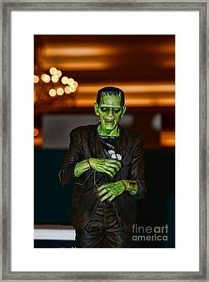 Frankenstein Framed Print by Paul Ward