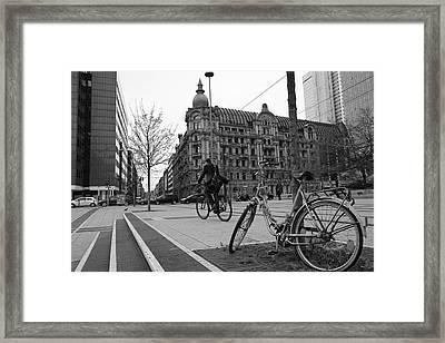 Frankfurt's Square Framed Print by Art CineMedia