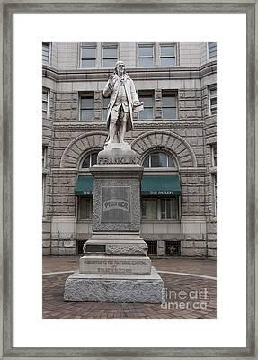Franklin Framed Print by Steven Ralser