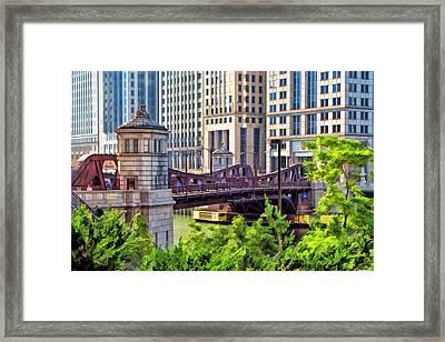 Franklin Street Bridge Framed Print by Christopher Arndt