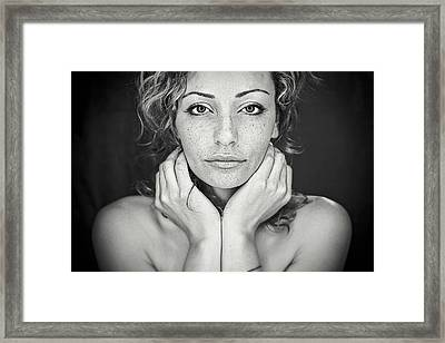 Freckles Framed Print by Oren Hayman