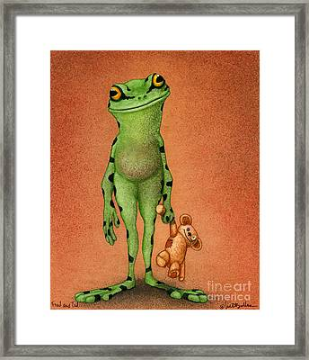 Fred And Ted... Framed Print by Will Bullas