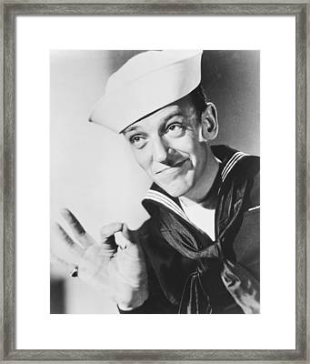 Fred Astaire In Follow The Fleet  Framed Print by Silver Screen