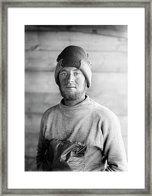 Frederick Hooper Framed Print by Scott Polar Research Institute