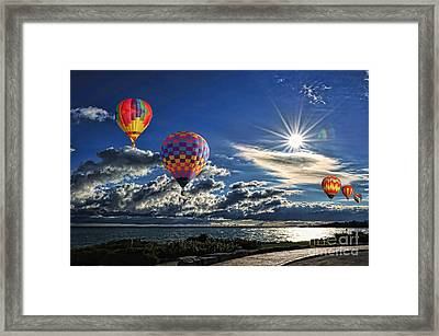 Free As A Bird Framed Print by Andrea Kollo