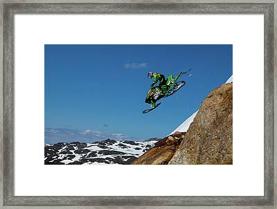 Free Fall Framed Print by Christian Otnes