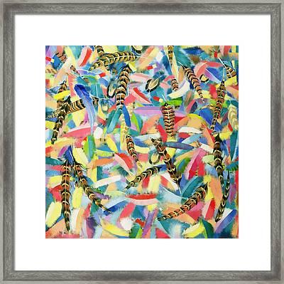 Free Flight Framed Print by Andrew Hewkin