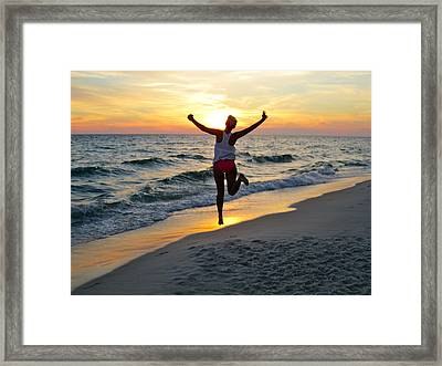 Free Spirit Framed Print by Bailey Barry