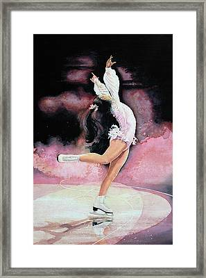 Free Spirit Framed Print by Hanne Lore Koehler
