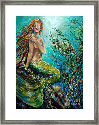 Free Spirit Framed Print by Linda Olsen