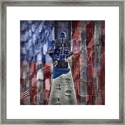 Freedom Ain't Free Framed Print by DJ Florek