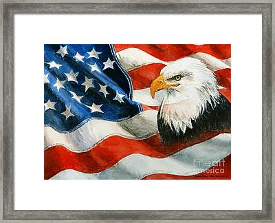 Freedom Framed Print by Andrew Read
