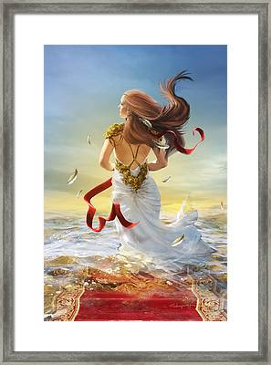 Freedom Framed Print by Cassiopeia Art