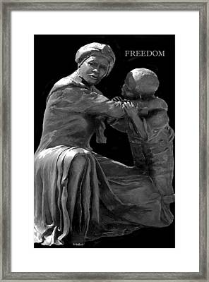 Freedom II Framed Print by Thia Stover