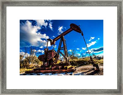 Freedom Framed Print by Jerad  Roberts