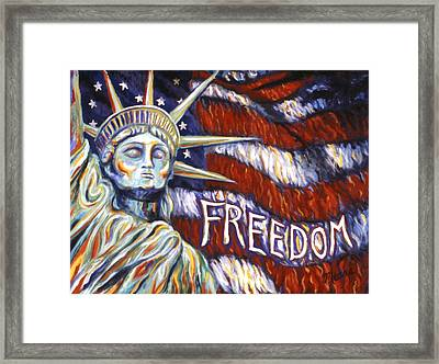 Freedom Framed Print by Linda Mears