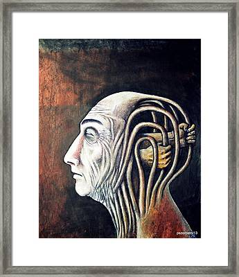 Freedom Of Compulsions Habits And Addictions Framed Print by Paulo Zerbato