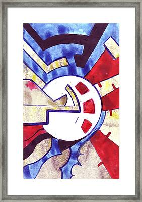 Freedom Of The Heart Framed Print by Seb Mcnulty