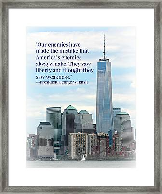 Freedom On The Rise Framed Print by Stephen Stookey