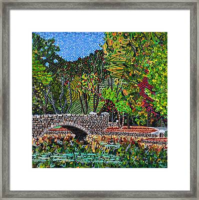 Freedom Park 3 Framed Print by Micah Mullen