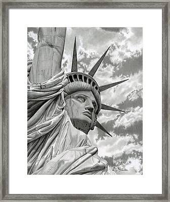 Freedom Framed Print by Sarah Batalka