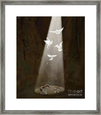 Freedom Framed Print by Tamer and Cindy Elsharouni
