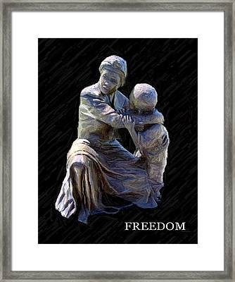 Freedom Framed Print by Thia Stover