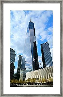 Freedom Tower Framed Print by Stephen Stookey