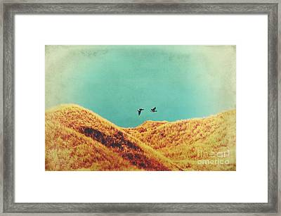 Freedom Vintage Framed Print by Angela Doelling AD DESIGN Photo and PhotoArt