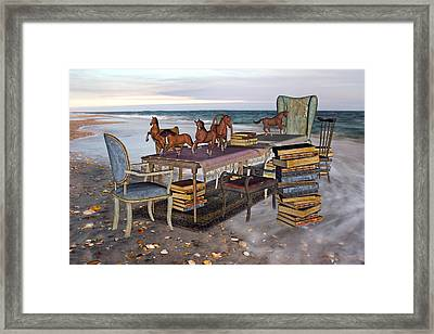 Freedom Within A Book Framed Print by Betsy Knapp