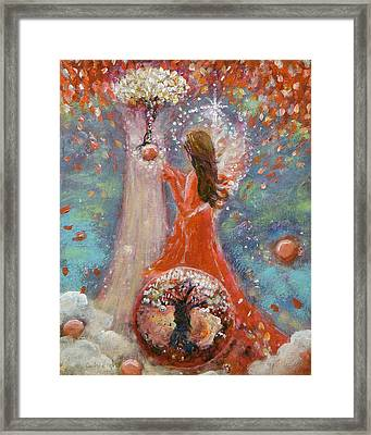 Freedom's Vine Framed Print by Ashleigh Dyan Bayer