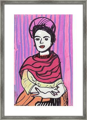Frida Kahlo Framed Print by Don Koester