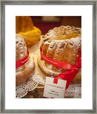 French - Alsace Pastry Framed Print by Brian Jannsen