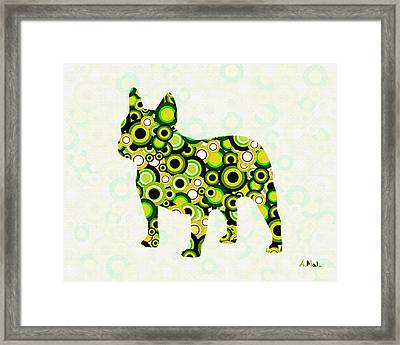 French Bulldog - Animal Art Framed Print by Anastasiya Malakhova