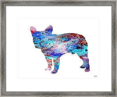 French Bulldog Framed Print by Lyubomir Kanelov