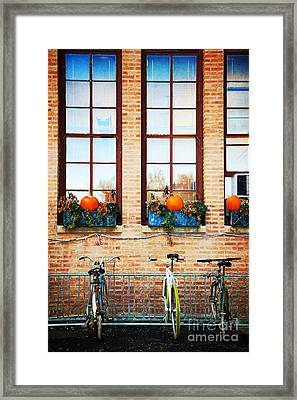 French Chicago Framed Print by Jeanette Brown