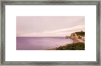 French Coast Framed Print by Yuri Fineart