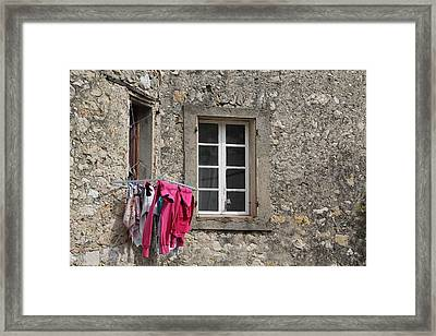 French Laundry Framed Print by Nancy Ingersoll