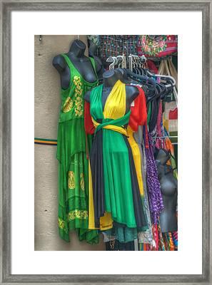 French Market Color Framed Print by Brenda Bryant