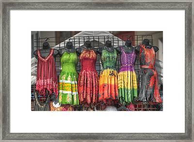 French Market Flair Framed Print by Brenda Bryant